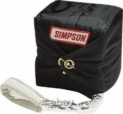 Simpson 10' Skyjacker Chute 10ft Drag Racing Parachute Voiture Uk Jour Suivant Livraison