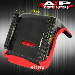 Spg Profi Style Jdm Full Bucket Racing Sièges D'auto Automobiles Avec Curseurs Tissu Rouge