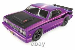 Team Associated Dr10 Drag Race Car, 1/10 Badge Moins 2wd Rtr, Purple