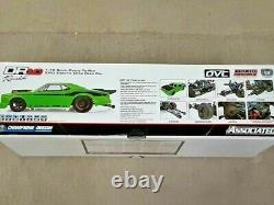 Team Associated Dr10 Rtr Brushless Drag Race Car Combo Green Withbattery & Charger