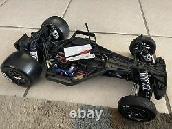 Traxxas Drag Slash 1/10 Rc Rtr Electric 2wd Non Prep Camion De Course / Voiture En Violet