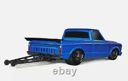 Traxxas Drag Slash 1/10 Rc Rtr Electric 2wd Pas De Prep Race Camion / Voiture Bleu