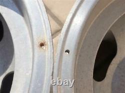 Vintage 15x10 Aluminium Slot Mag Wheels 5 Sur 4.75 Bolt Pattern Gm Cars Real Deal