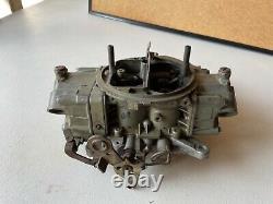 Vintage 1968 Holley Liste 3916 Trois Barres Carburetor 950 Cfm 3 Barrel Race Car