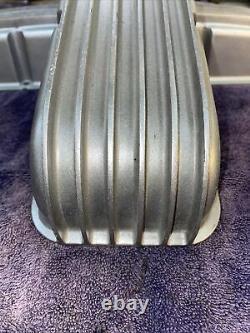 Vintage Cal Custom Valve Couvre Chevy 59-86 Sbc V8 Hot Rod Muscle Voiture Vieux Gazer