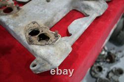 Vintage Cragar Intake Collecteur 303 324 Oldsmobile Stromberg 4x2 Hot Rod Custom