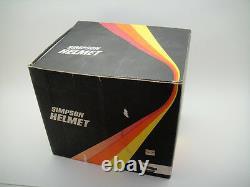Vintage Simpson M41 Racing Car Helmet Classic 70's Nomex Indy 500 Daytona Drag