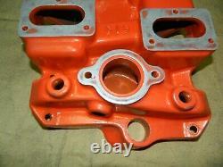 Weiand C16 Drag Star 6x2 Tuyau D'admission En Aluminium Chevy Impala Rare 348 409