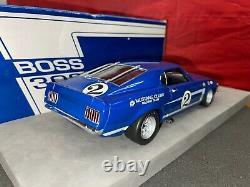 Welly 118 Diecast 1969 Dan Gurney Boss 302 Trans-am Mustang #2